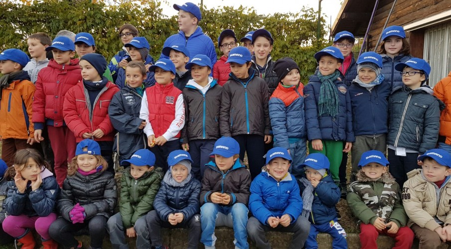 Domenica 12 novembre l'ultimo appuntamento con Ragazzi a Pesca ad Almenno San Salvatore