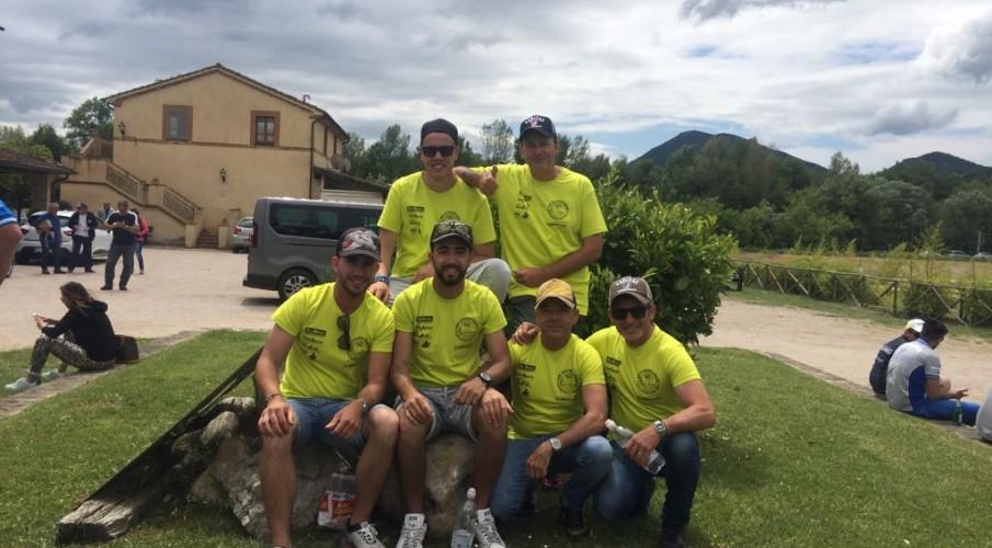 Campionati italiani a lago a Perugia: 4° e 5° posto per due coppie della Calventianum