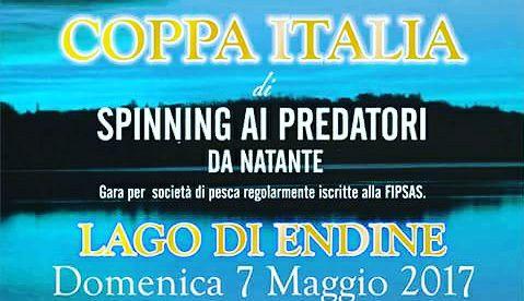 Coppa Italia di spinning ai predatori da natante sul lago d'Endine: tutto pronto per la sfida del 7 maggio