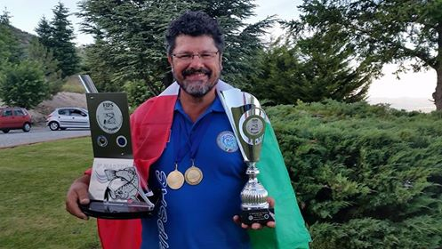 Fipsas Bergamo sul tetto del mondo con Edgardo Donà, medaglia d'oro nella pesca con la mosca master