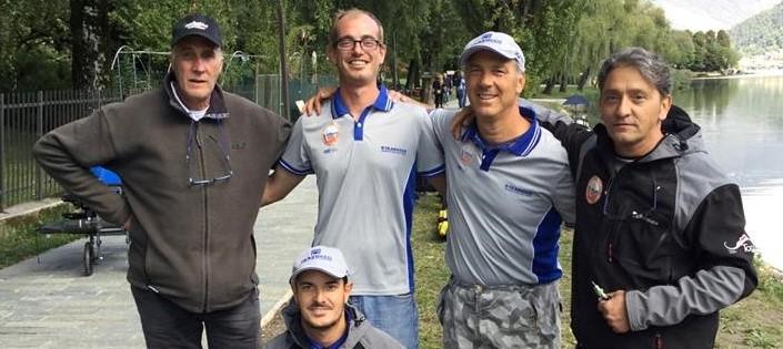 Sul lago d'Endine i protaginisti del feeder: successo di Michael Carminati dei Pescasportivi Seriate