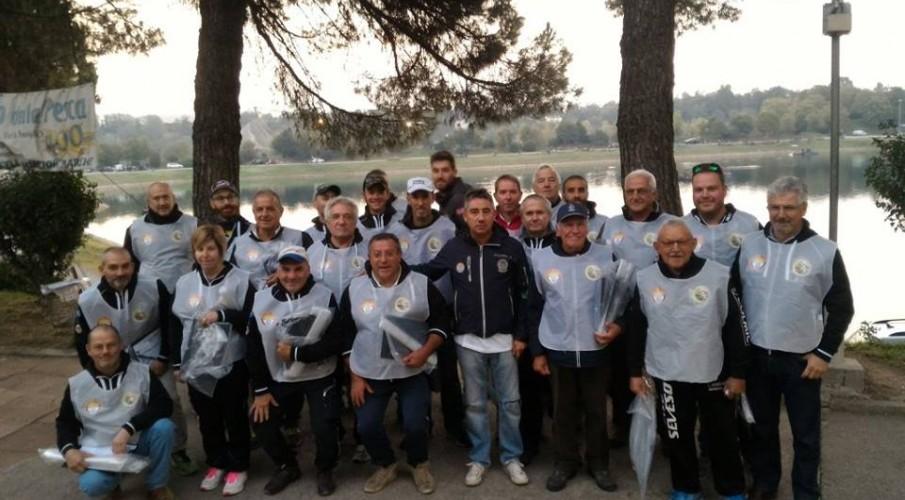 Semifinale trota lago individuale a Pontirolo Nuovo: 3° Alessandro Mulliri della Calventianum