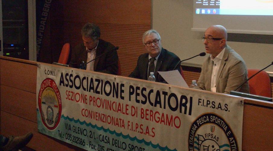Sabato 17 febbraio 2018 l'Assemblea ordinaria provinciale dell'Associazione Pescatori di Bergamo aperta a tutti gli iscritti