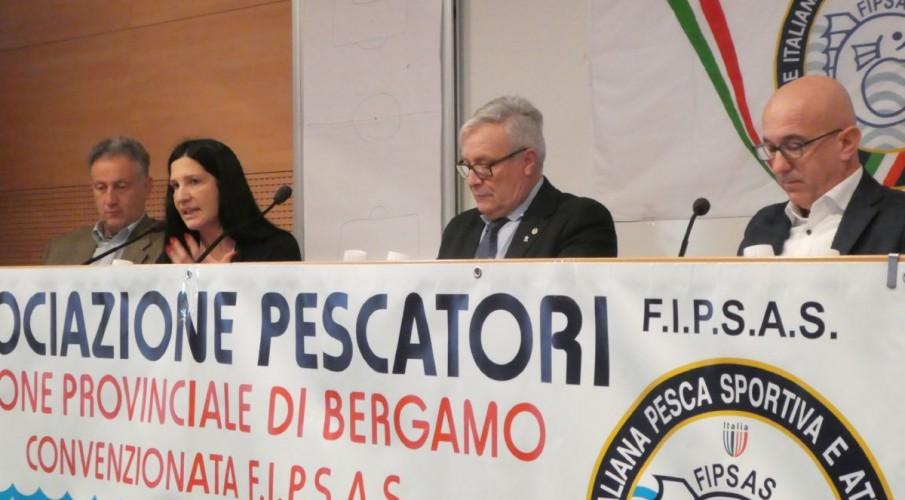 PHOTOGALLERY- L'Assemblea annuale dell'Associazione Pescatori di Bergamo. Le relazioni del 2017 di tutte le componenti Fipsas Bergamo