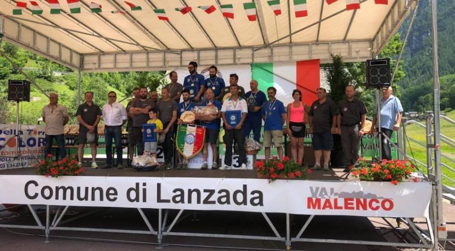 Campionati italiani torrente a squadre e colpo giovanile: sul podio la Valle San Martino e Andrea Colombo