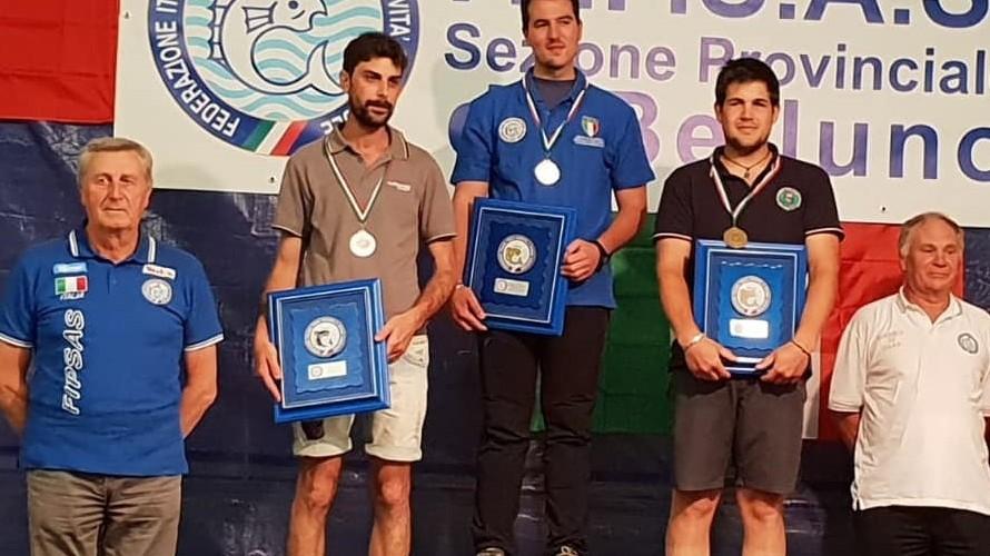 Campionati italiani di spinning: 3° Giganti della Scuola Pesca Valle Imagna nel promozionale