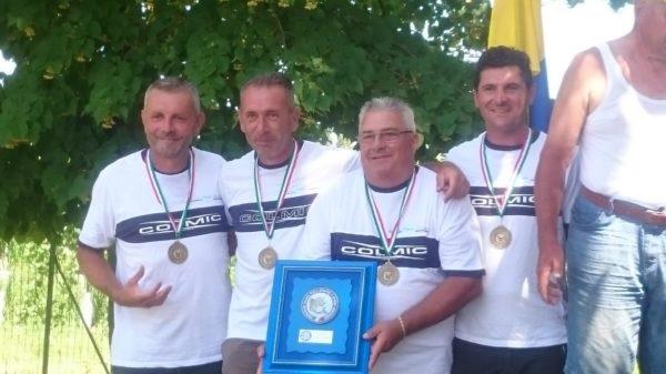 Coppa Italia pesca al colpo: 3° posto per i bergamaschi dell'Acqua Chiara