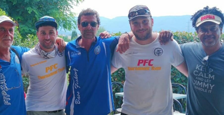Daniele nome vincente: Sireci e Giunti del Predator Fishing Club vincono il Club Azzurro