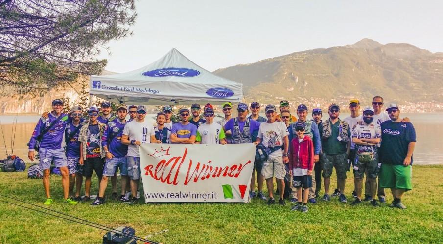 Il 1° campionatoregionale predatori da riva con esche artificiale: un successo targato Bergamo Spinning con i bresciani del Team Sampei