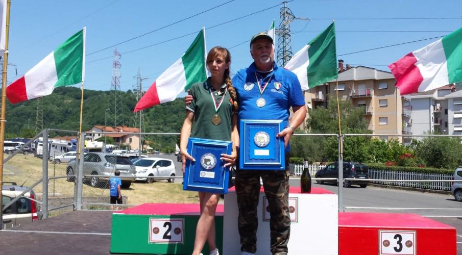Malzanni campione d'Italia trota torrente master, Bettoni 3° tra le ladies, il trionfo della Cannisti Club Bergamo